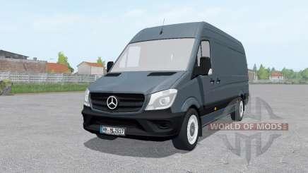 Mercedes-Benz Sprinter BlueTEC LWB (Br.906) для Farming Simulator 2017