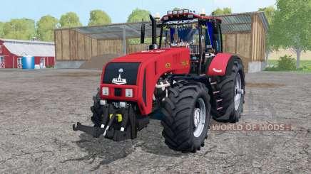 Беларус 3522 спаренные колёса для Farming Simulator 2015