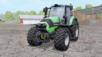 Deutz-Fahr Agrotron 6190 TTV wheels weights для Farming Simulator 2015