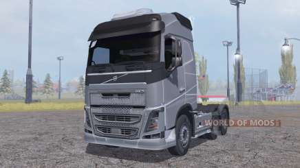 Volvo FH16 6x4 Globetrotter cab 2012 для Farming Simulator 2013