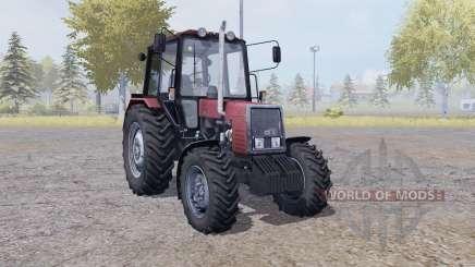 МТЗ 820 Беларус с ручным зажиганием для Farming Simulator 2013