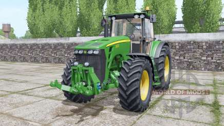 John Deere 8330 moving elements для Farming Simulator 2017