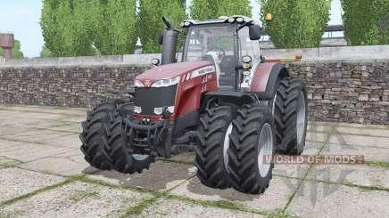 Massey Ferguson 8737 more options для Farming Simulator 2017