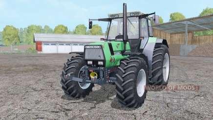 Deutz-Fahr AgroStar 6.61 dual rear wheels для Farming Simulator 2015
