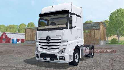 Mercedes-Benz Actros BigSpace (MP4) для Farming Simulator 2015