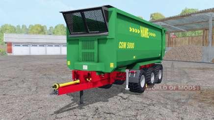 Hᶏwe CSW 5000 для Farming Simulator 2015