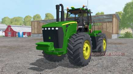 John Deere 9630 triple wheels для Farming Simulator 2015