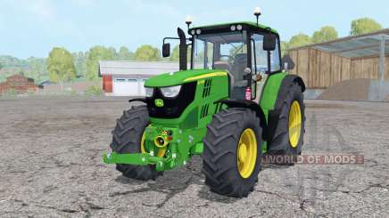 John Deere 6115M front loader для Farming Simulator 2015