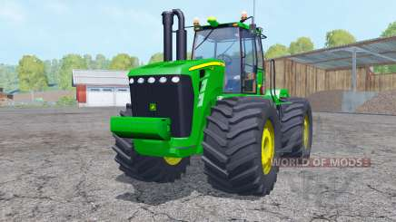 John Deere 9630 change wheels для Farming Simulator 2015
