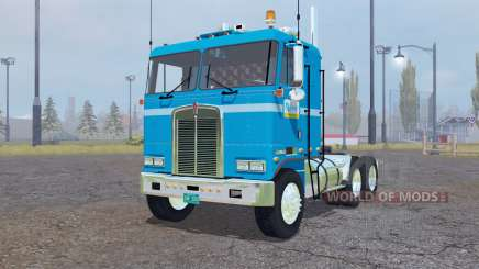 Kenworth K100 Flat Top 1978 для Farming Simulator 2013