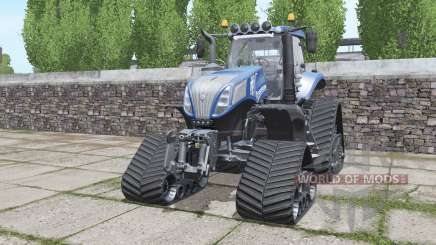 New Holland T8.420 crawler modules для Farming Simulator 2017