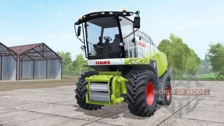 Claas Jaguar 850 dual front wheels для Farming Simulator 2017