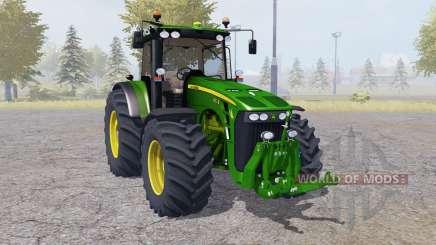 John Deere 8530 More Realistic для Farming Simulator 2013