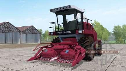 Палессе FS80 с жаткой для Farming Simulator 2017
