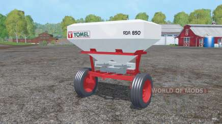 Yomel RDA 850 для Farming Simulator 2015