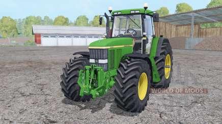 John Deere 7810 front loader для Farming Simulator 2015