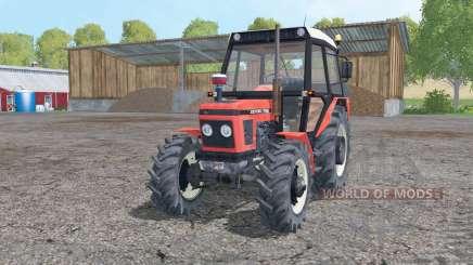 Zetor 7745 moving elements для Farming Simulator 2015