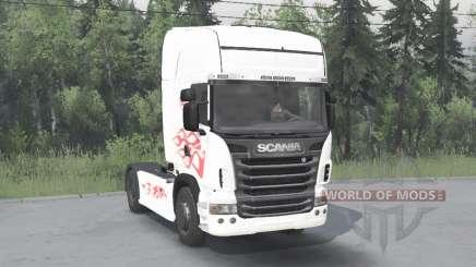 Scania R730 2009 для Spin Tires