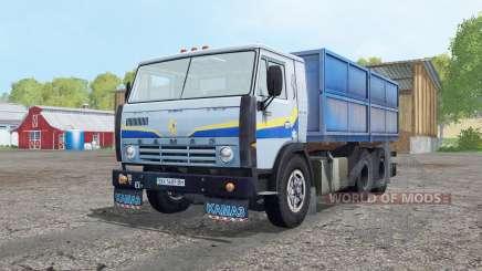 КамАЗ 5320 светло-серо-синий для Farming Simulator 2015