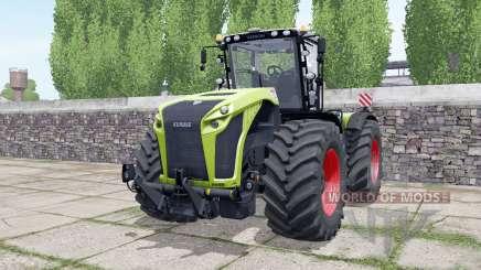 Claas Xerion 4000 engine configuration для Farming Simulator 2017