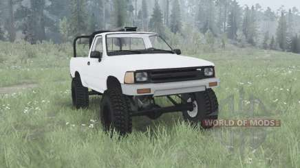 Toyota Hilux Single Cab для MudRunner