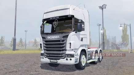 Scania R730 V8 Topline v2.0 для Farming Simulator 2013
