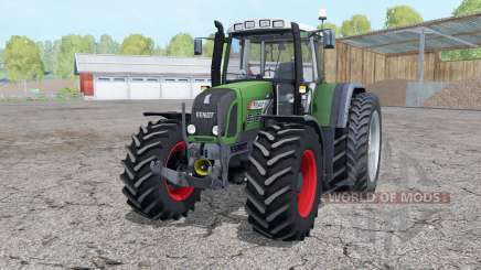 Fendt 820 Vario TMS dual rear wheels для Farming Simulator 2015