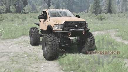Dodge Ram 3500 Heavy Duty 2012 TTC для MudRunner