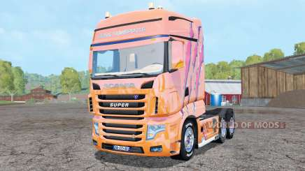 Scania R700 Evo Cedric Transports Edition для Farming Simulator 2015