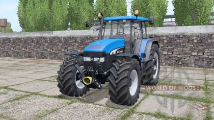 New Hollᶏnd TM190 для Farming Simulator 2017
