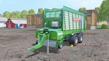 Bergmann Carex 38S with increased yield для Farming Simulator 2015