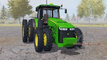 John Deere 8360R double wheels для Farming Simulator 2013