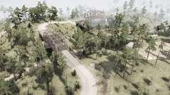 Сосновый лес для MudRunner