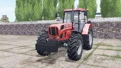 Ursus 1634 with weights для Farming Simulator 2017