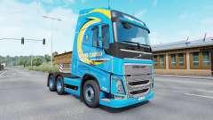 Окрас Roml Cargo на тягач Volvo для Euro Truck Simulator 2