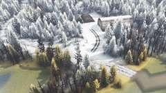 Зимний остров для Spin Tires