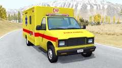 Gavril H-Series Belgian EMS для BeamNG Drive