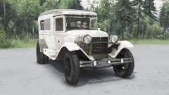 ГАЗ 55 1938 Санитарный v1.5.1 для Spin Tires