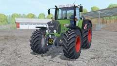 Fendt 820 Vario TMS with weight для Farming Simulator 2015