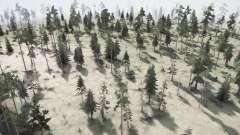 The Forest для MudRunner