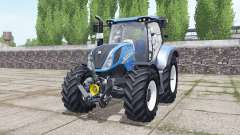 New Holland T6.160 wheels selection для Farming Simulator 2017