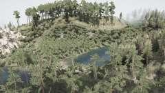 Зелёная природа для MudRunner