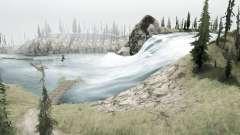 Горные реки для MudRunner