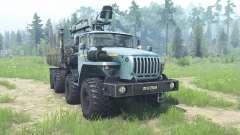 Урал-6614 для MudRunner