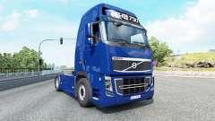 Volvo FH16 750 Globetrotter XL cab 2012 v1.3 для Euro Truck Simulator 2
