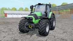 Deutz-Fahr Agrotron 6190 TTV wheels weightᶊ для Farming Simulator 2015