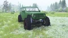 Jeep Wrangler Unlimited (JK) 2007 для MudRunner