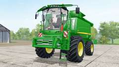 John Deere T670i wheels selection для Farming Simulator 2017