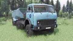 МАЗ-504В мягко-синий для Spin Tires