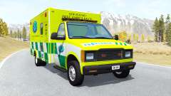 Gavril H-Series Ambulance New Zealand v0.3.2 для BeamNG Drive
